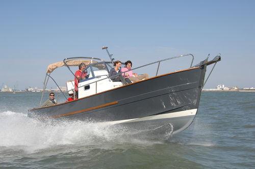 inboard day cruiser / open / traditional / 8-person max.