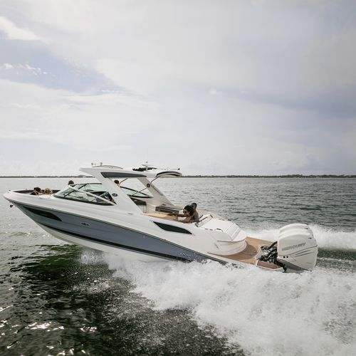 outboard runabout / dual-console / bowrider / sundeck