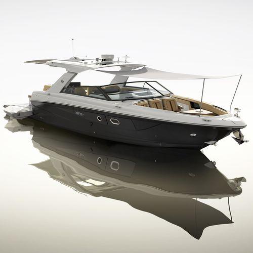 inboard express cruiser / diesel / twin-engine / open