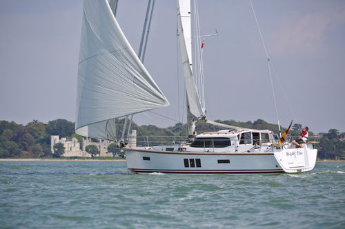 Ocean cruising sailboat / deck saloon 40 DS Sirius Werft GmbH