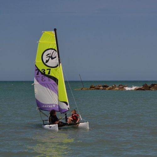 recreational sport catamaran / instructional / children's