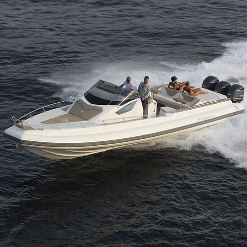 outboard inflatable boat - Capelli