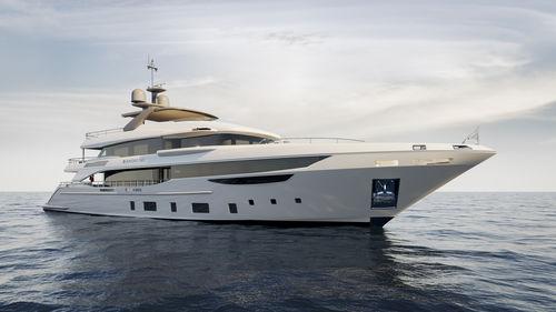 cruising super-yacht - Benetti