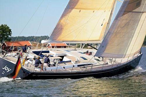 Cruising sailing yacht / deck saloon / custom JOY - CNB 74 - MAGNEN/FAY CNB Bénéteau