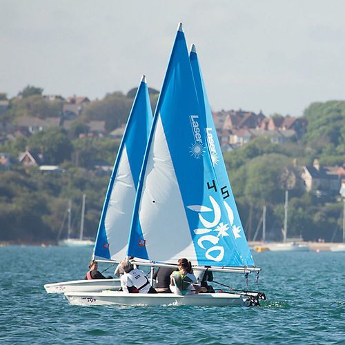 single-handed sailing dinghy / recreational / Laser