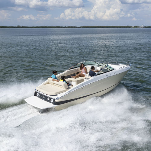 inboard cabin cruiser / open / 13-person max. / sundeck