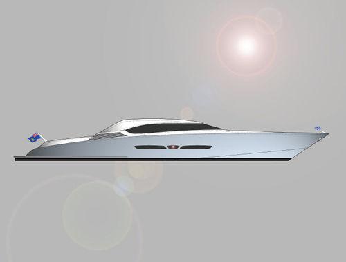 cruising super-yacht / hard-top / planing hull