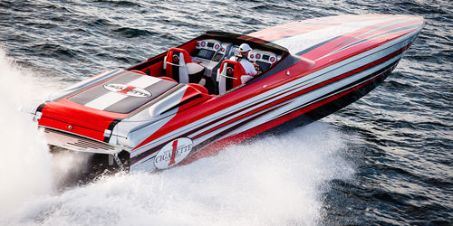 Offshore speed boat 50' MARAUDER SS Cigarette