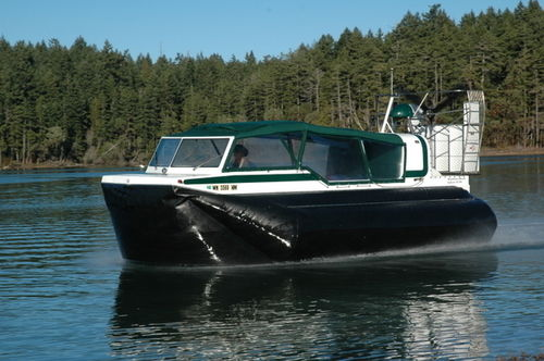 Private hovercraft / cruising EXPLORER 24 Amphibious Marine