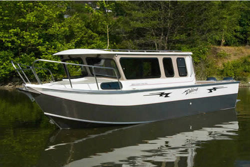 outboard express cruiser / diesel / sport-fishing / 10-person max.