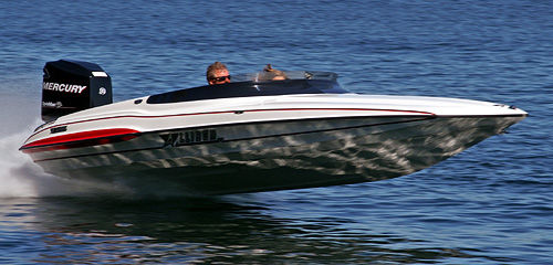 Outboard runabout / dual-console / offshore XS-2003 GrandSport Allison Boats