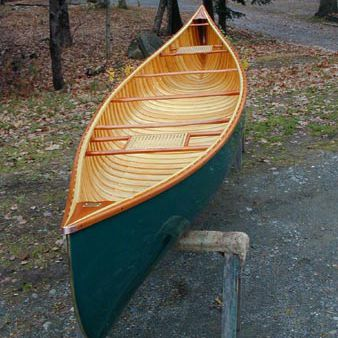Canadian canoe / 2-person / wooden