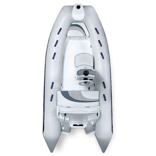 Side console inflatable boat / semi-rigid G380L / GL GRAND Inflatable Boats