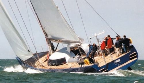 Cruising sailing yacht / deck saloon GARCIA 86 Garcia Yachting