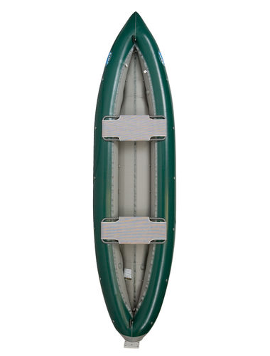 multi-use canoe / inflatable / 2-person / PVC