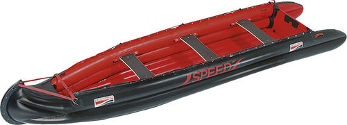 Outboard inflatable boat / foldable / inflatable bottom SPEED Grabner