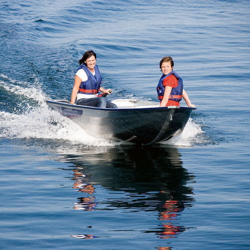 outboard small boat / aluminum / 3-person