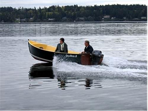 outboard small boat / classic