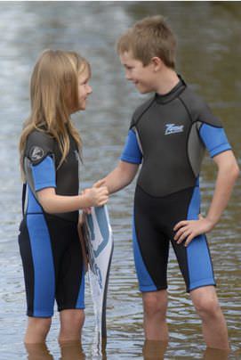 watersports wetsuit / shorty / child's