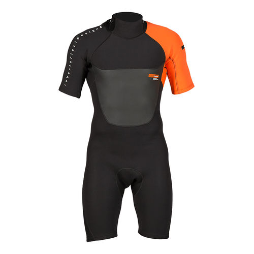 watersports wetsuit / shorty / short-sleeved / body