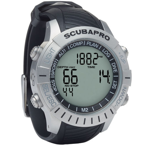 wrist dive computer / multi-gas / freediving / with compass