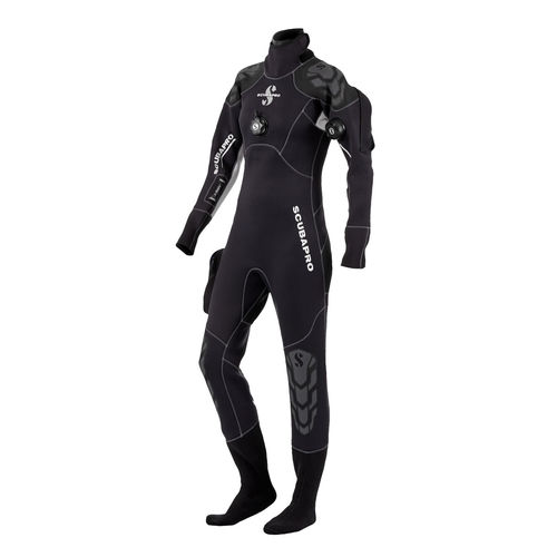 dive wetsuit / one-piece / women's / thermal