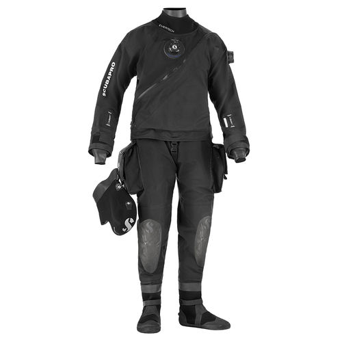 dive drysuit / one-piece / long-sleeve / unisex