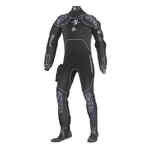 dive drysuit / long-sleeve / one-piece / men's