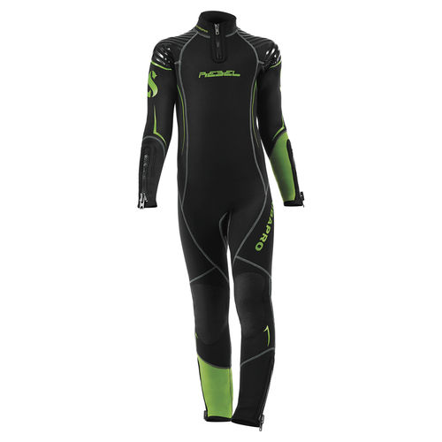 dive wetsuit / long-sleeve / one-piece / child's