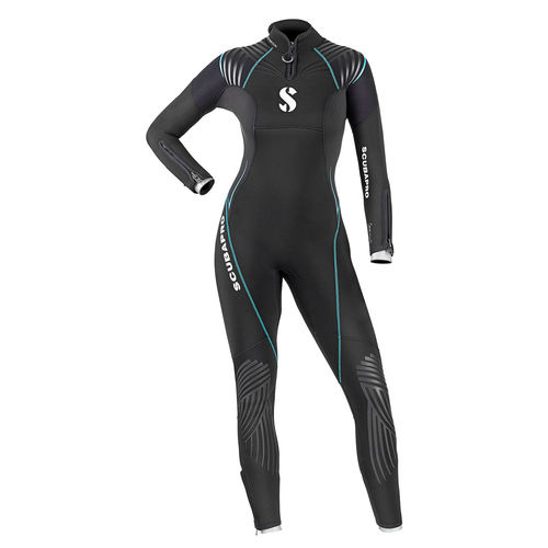 dive wetsuit / one-piece / long-sleeve / body