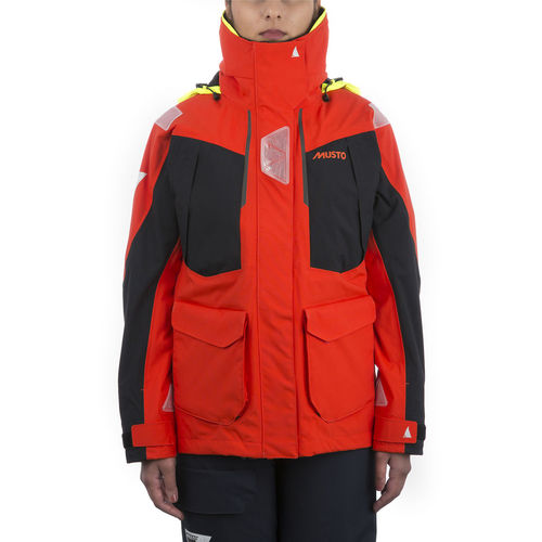 offshore sailing jacket / women's / breathable / waterproof