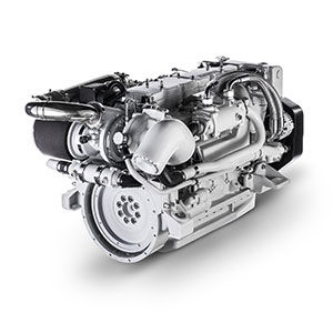 boating engine / inboard / diesel / turbocharged