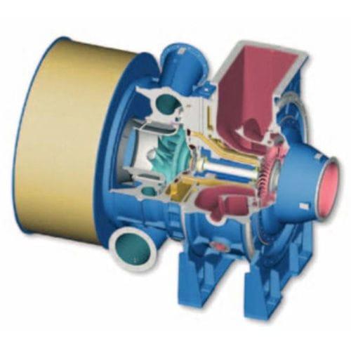 axial flow turbine turbocharger - MAN Diesel SE