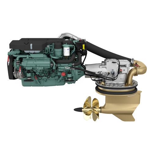 boating engine / inboard IPS-drive / diesel / turbocharged