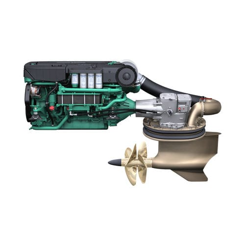 boating engine / inboard IPS-drive / diesel / sequential turbocharger