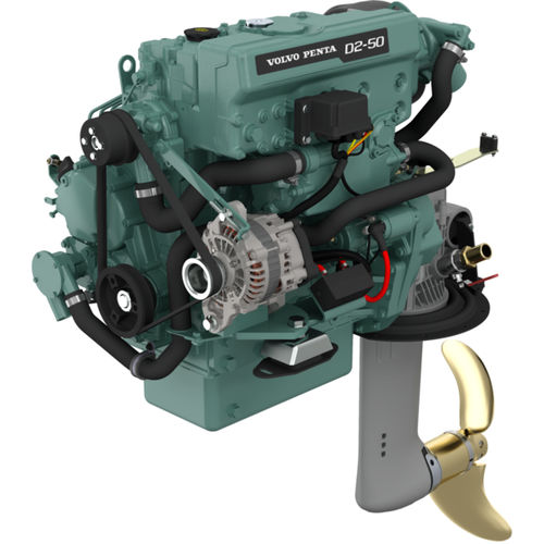 Inboard saildrive engine / diesel / direct fuel injection D2-50/130S Volvo Penta