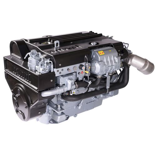 professional vessel engine / inboard / diesel / common-rail