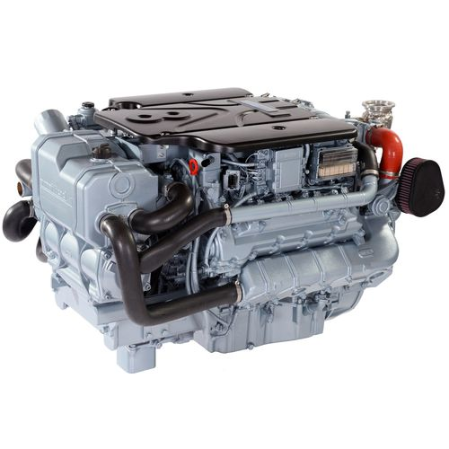 Inboard engine / diesel / common rail / turbocharged T8V.320 Nanni Industries