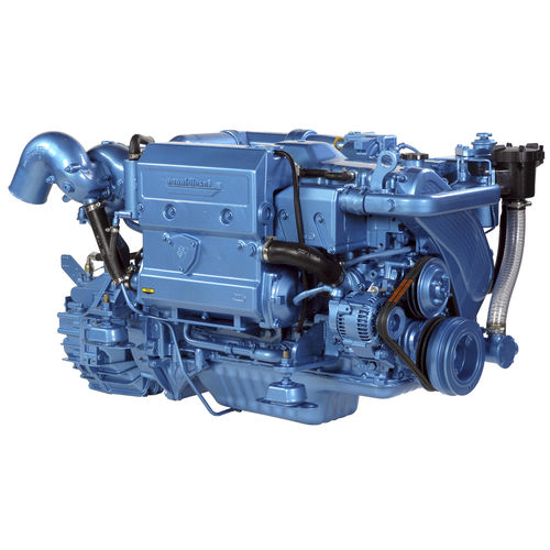 inboard engine / diesel / direct fuel injection / turbocharged