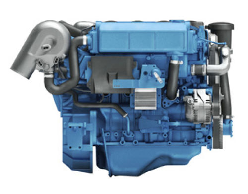 Inboard engine / diesel / turbocharged / common-rail T4.230 Nanni Industries