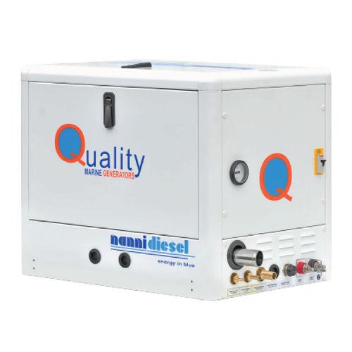 Yacht generator set / diesel / soundproofed QMS 13T Nanni Industries