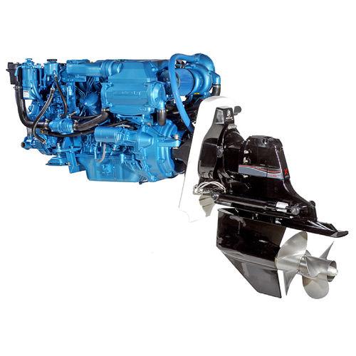Professional vessel engine / inboard / inboard stern-drive / diesel Z6.300 Nanni Industries