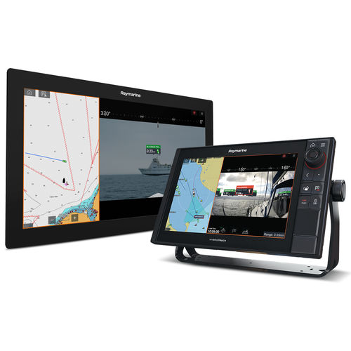 boat display / multi-function / touch screen / augmented reality