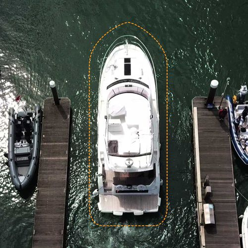 boat assisted docking system / for yachts