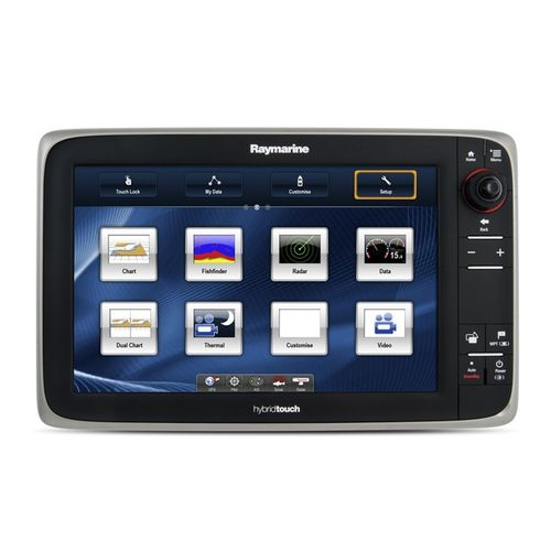 boat display / AIS / multi-function / touch screen