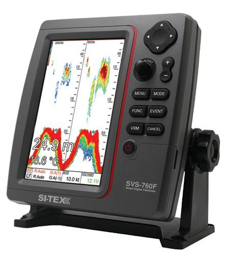 gps combo / chart plotter / fishfinder / for boats - svs-760f - si-tex, Fish Finder