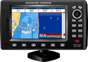 chart plotter / fishfinder / radar / ais - cpf300i - standard horizon, Fish Finder