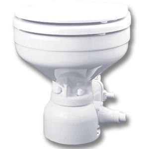 marine toilet / with macerator / electric / ceramic