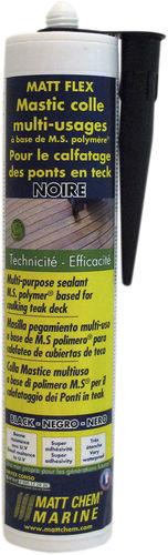 polymer adhesive / teak deck / caulking