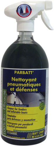 Fender cleaner / for boats PARBATT' MATT CHEM MARINE